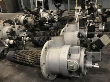 Adjustment and repair of gas burners