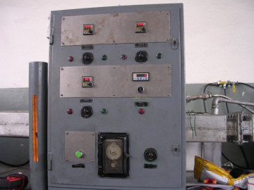 Pass-through furnace for soldering