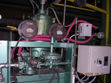 Dew point controllers set up in endothermic generator